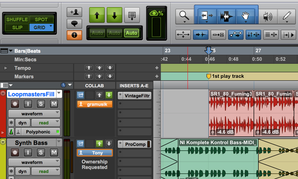 Beginning Pro Tools and Productions I & II
