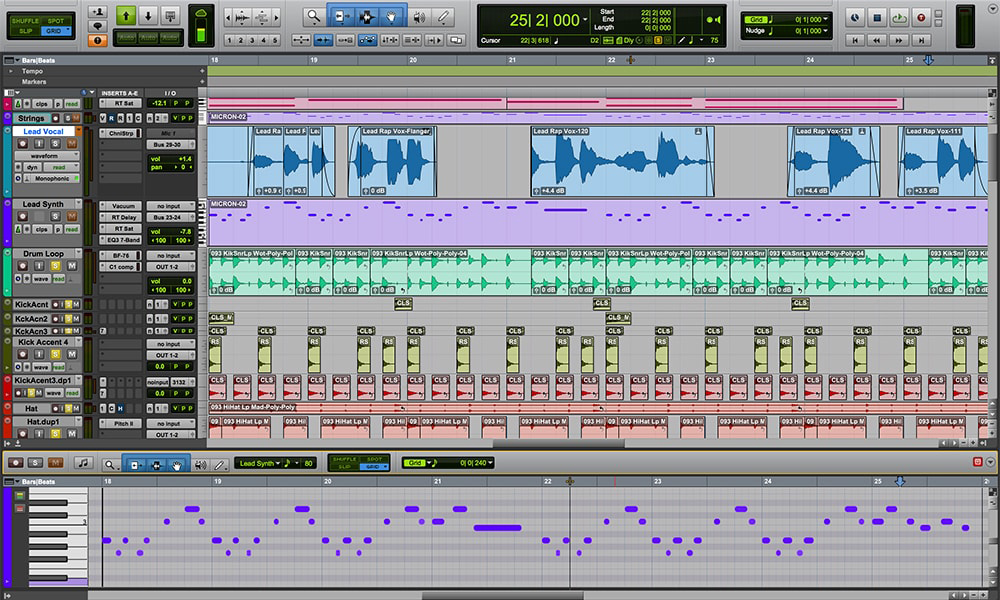 Advanced Pro Tools and Productions I & II