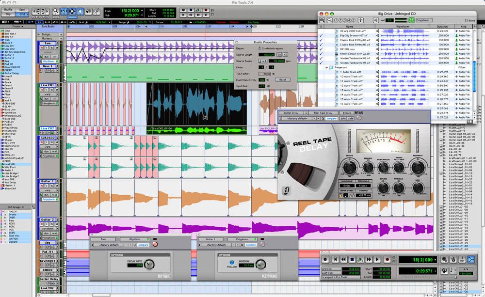 Pro Tools Editing