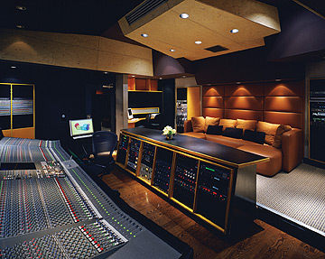 Large Console Recording Studio