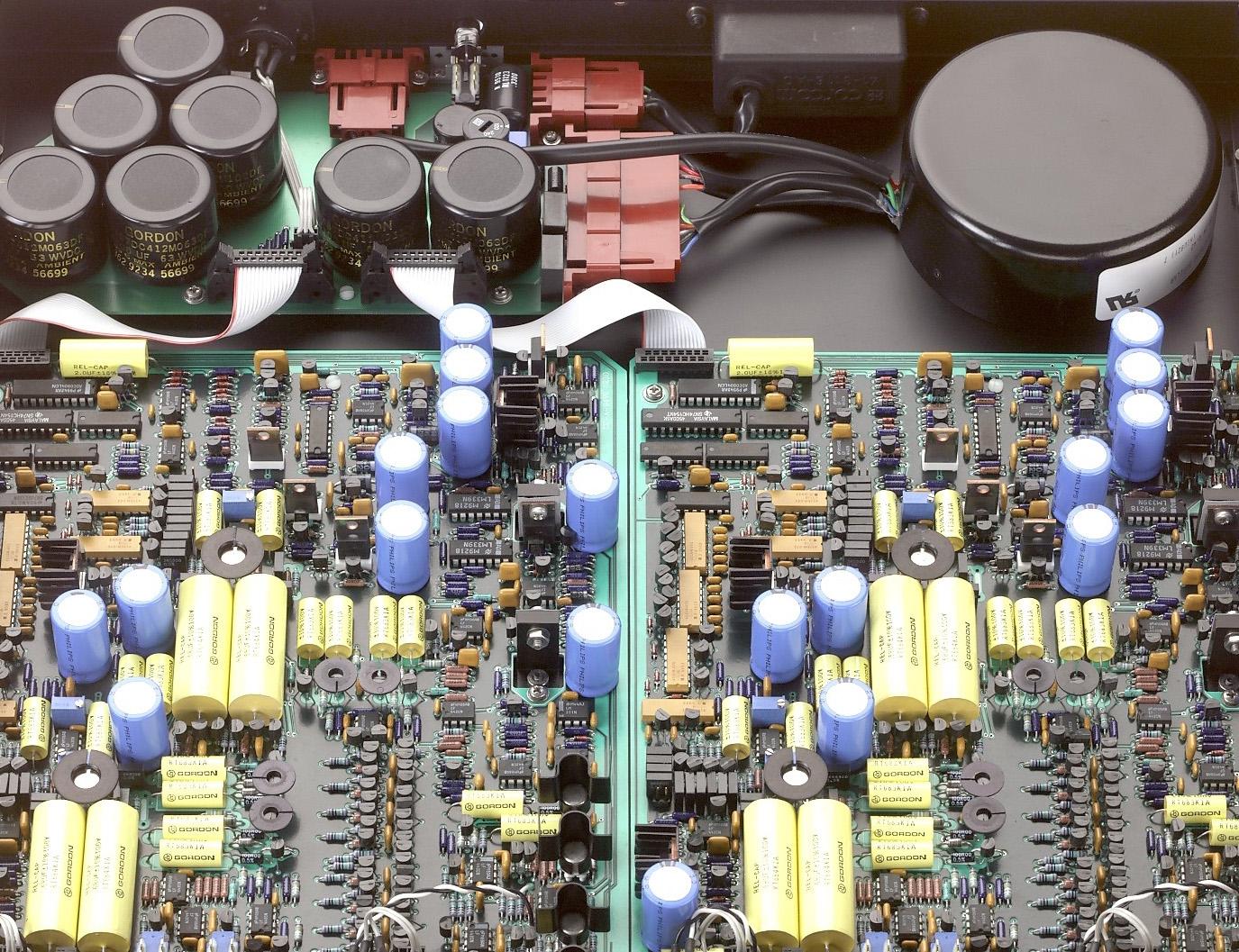 Inside a Mic Pre-Amp